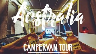AUSTRALIA CAMPERVAN TOUR // VAN LIFE
