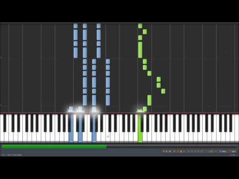 The Cat Returns - 風になる(Kaze Ni Naru) ピアノ [Piano Synthesia] [Sheet DL]
