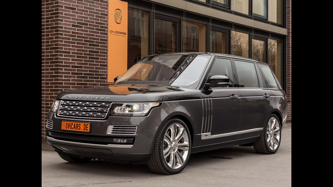 Range Rover 5 0l V8 SUPERCHARGED SV Autobiography IN STOCK