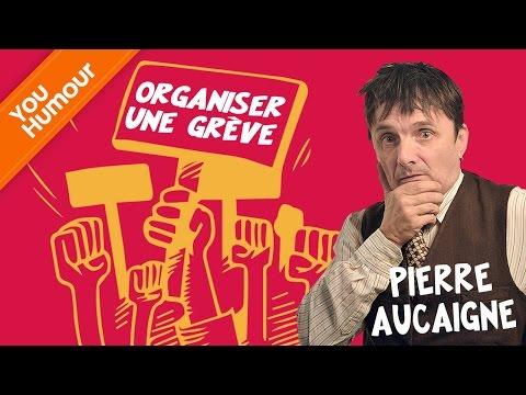 PIERRE AUCAIGNE décide d'organiser une grève