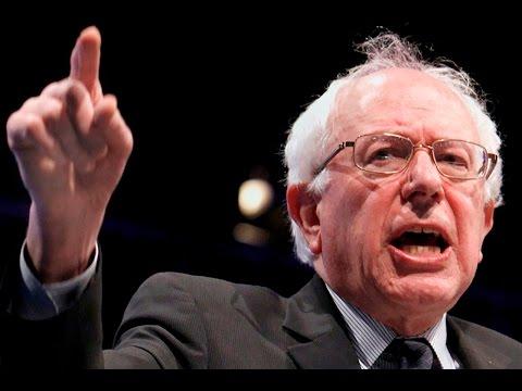 Bernie Sanders Goes After Conservative