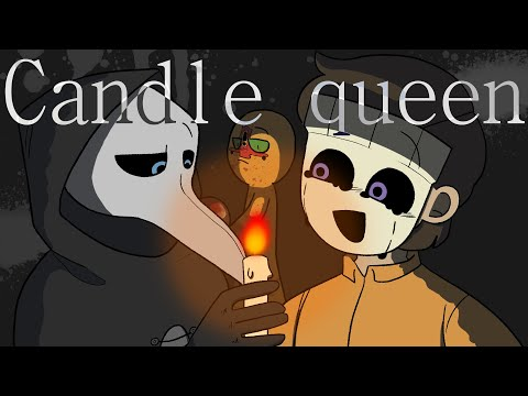 [SCP] CANDLE QUEEN meme ( ! Blood warning ! )