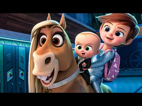 Download THE BOSS BABY 2 All Movie Clips (2021)