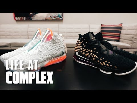 Nike Lebron 17 First Looks! | #LIFEATCOMPLEX