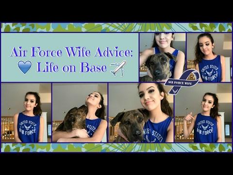 Air Force Wife Advice: Life on base....🇺🇸
