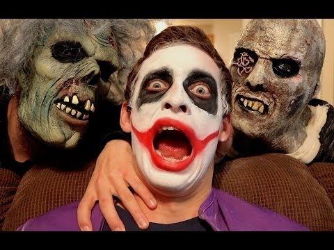 Crazy Joker Vs Zombies In Real Life Superhero Movie
