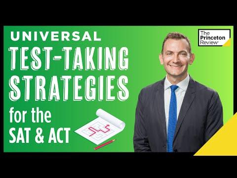 Universal Test-Taking Strategies: SAT/ACT Similarities | SAT & ACT Strategies | The Princeton Review