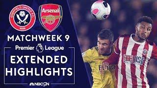 Sheffield United v. Arsenal | PREMIER LEAGUE HIGHLIGHTS | 10/21/19 | NBC Sports