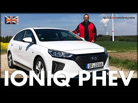 2017 Hyundai IONIQ Plug-In Hybrid PHEV Full Review & Driving Report | Test | Car | English