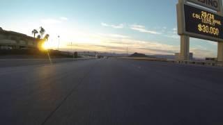 Henderson, Nevada south on U.S. Route 95 & U.S. 93, 19 December 2015, GP010029