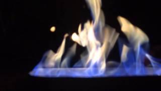 Burning Absinthe and listening to Dj. Koze