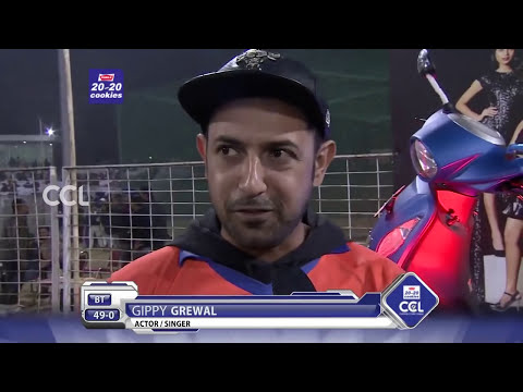 Gippy Grewal at Match Centre- CCL6 || Bengal Tigers VS Punjab De Sher