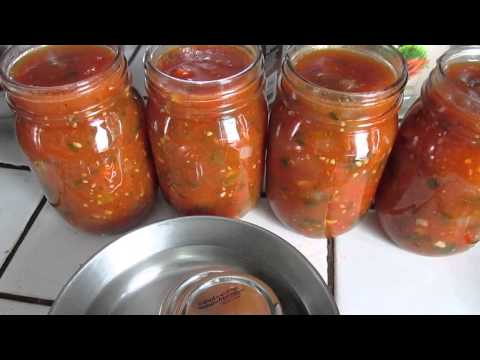 How To Make Yummy Salsa! For Canning or Freezing (2 Recipes to Choose From)