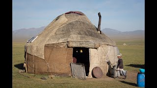 Making a Yurt in Kyrgyzstan