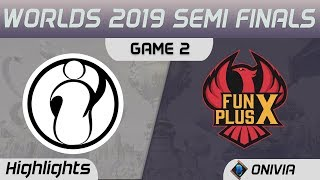 IG vs FPX Highlights Game 2 Worlds 2019 Semi Finals Invictus Gaming vs FunPlus Phoenix by Onivia