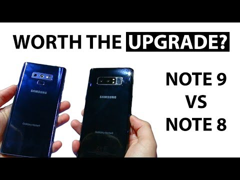 Samsung Galaxy Note 9 vs Note 8 (Worth The Upgrade?) Initial Impressions