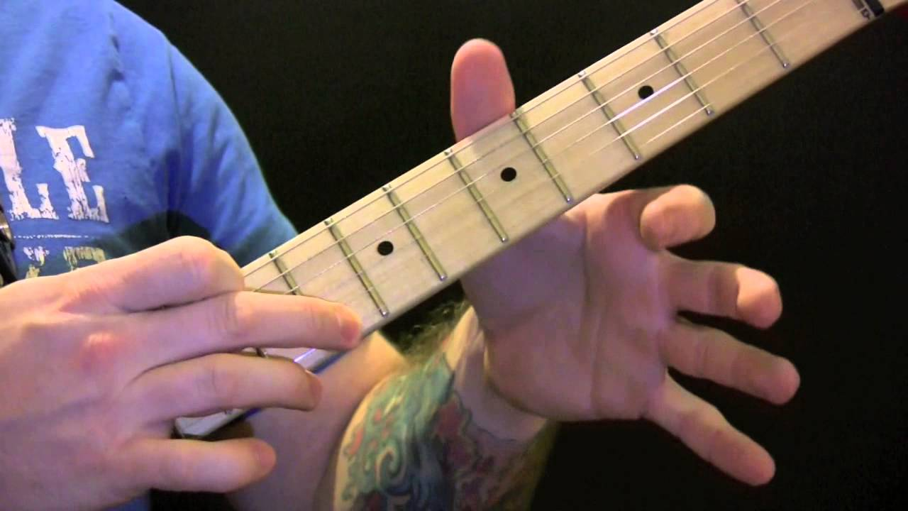 Don't Forget Me Guitar Tutorial By The Red Hot Chilli Peppers - How To ...