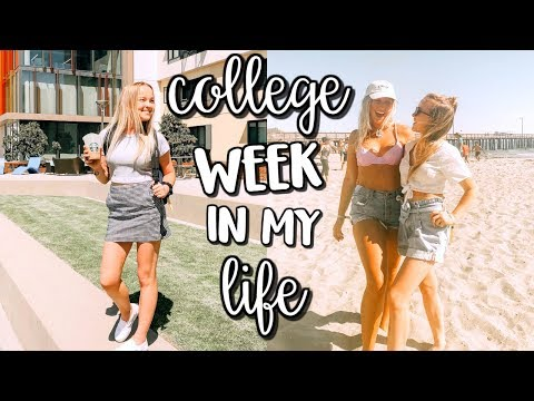 college week in my life   first week of classes