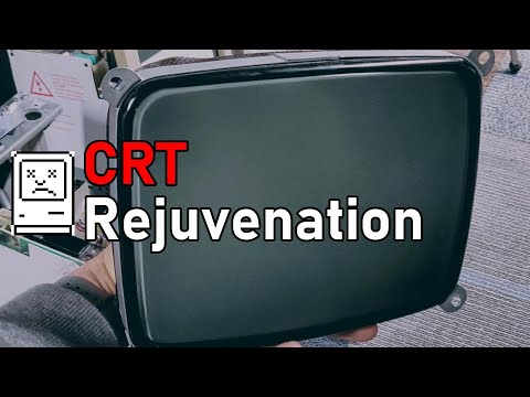 Rejuvenating A Macintosh CRT With Equipment From 1969