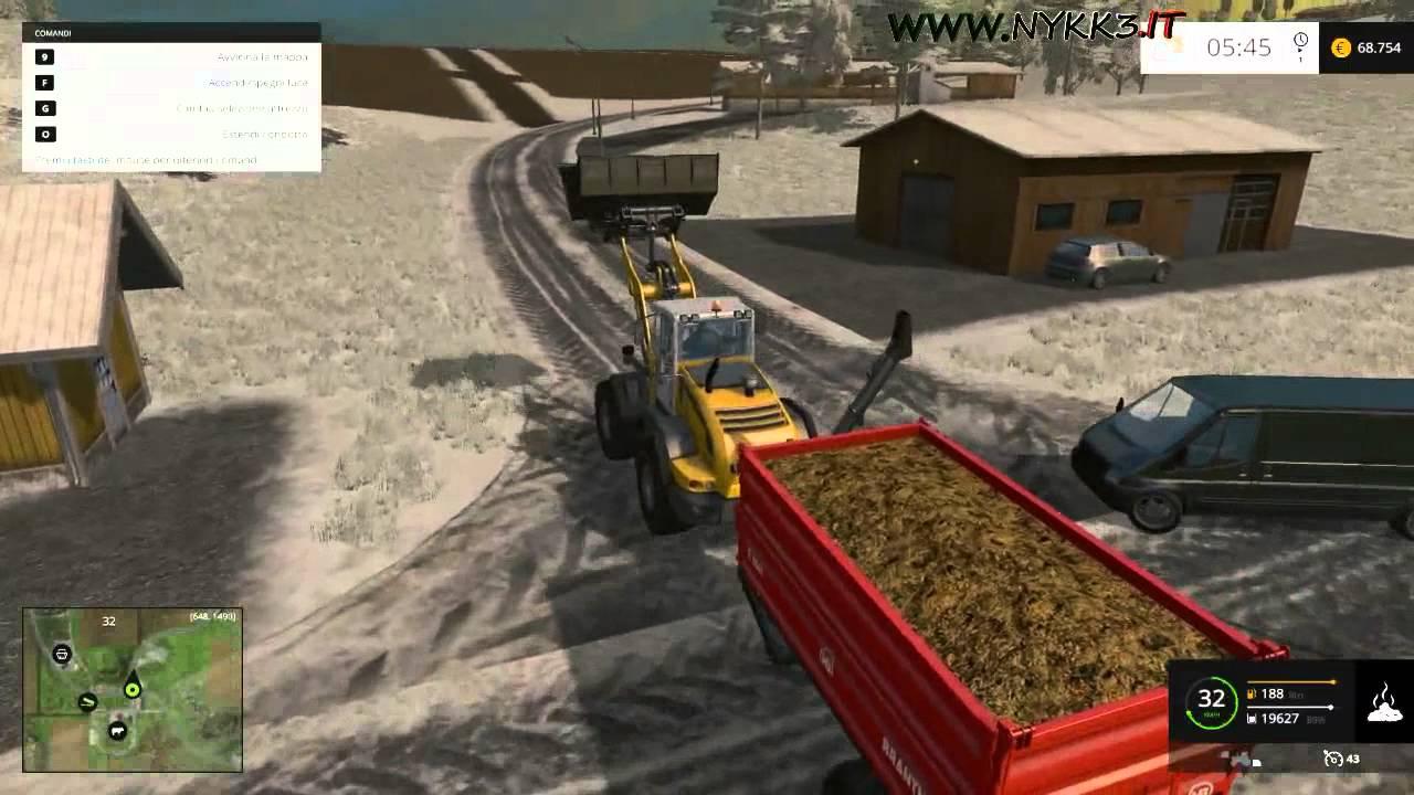 Farming Simulator 15 - Gameplay ITA HD - Concime E Cibo Mucche #52