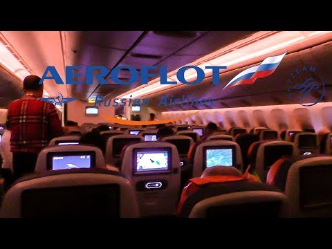 TRIP REPORT | Aeroflot B777-300ER | Economy | Hong Kong - Moscow