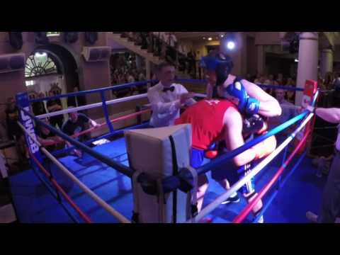 Ultra White Collar Boxing | St Albans | Kyle Golzey VS Ben Gorman