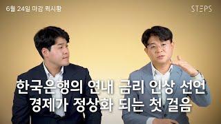 한국은행의 연내 금리 인상 선언, 경제가 정상화 되는 …