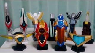 ウルトラマン Ultraman All ULTRA REPLICA 全ウルトラレプリカ 大集合 メビウスブレス スパークレンス リーフラッシャー エスプレンダー エボルトラスター ベーターカプセル