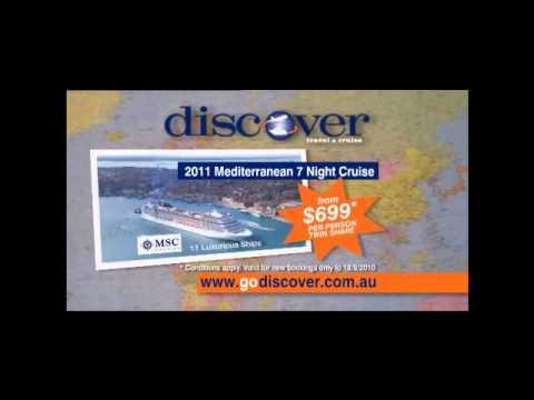 MSC 2011 Mediterranean Cruises