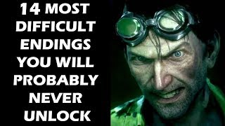15 MOST DIFFICULT Video Game Endings You Will Probably Never Unlock