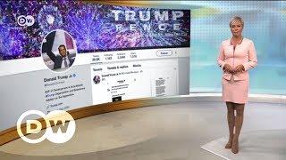 Сын Трампа опубликовал тайную переписку c Wikileaks - DW Новости (14.11.2017)