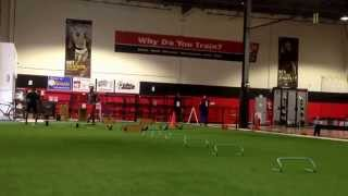 Rb Drills Focusing On Lateral Movement And Jump Cuts With Acceleration Transitions