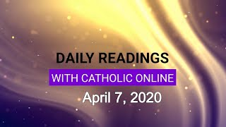 Gambar cover Daily Reading for Tuesday, April 7th, 2020 HD