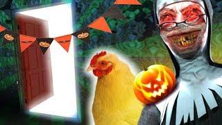 Mega Halloween Update: Geheimraum geöffnet + Neues Haustier   Evil Nun