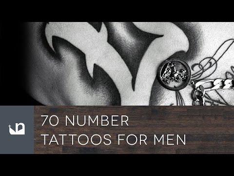 70 Number Tattoos For Men