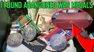 A Hero's War Medals Found in an Abandoned House