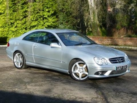 2006 mercedes clk 320 cdi sport auto in silver youtube. Black Bedroom Furniture Sets. Home Design Ideas