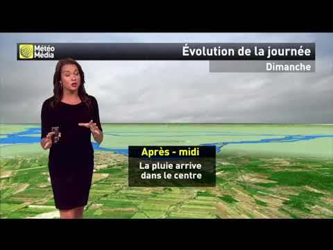 Météo 3 septembre 2017  MétéoMédia météo par Sandra Sirois