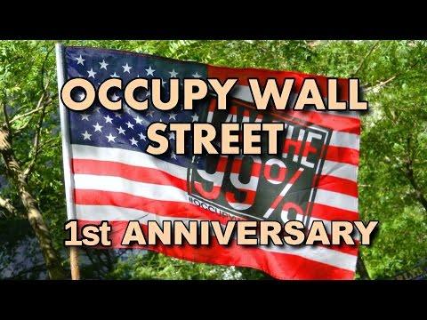 Occupy Wall Street First Birthday Celebration