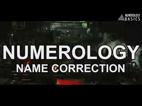 NAME NUMEROLOGY FOR NAME CORRECTION