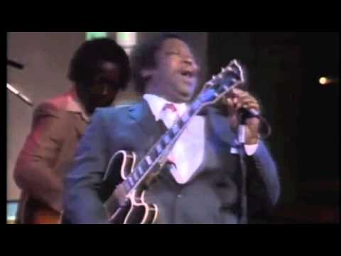 BB King Live Concert in 1983-Let the good times roll