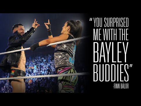 Bayley catches Finn Balor by surprise on WWE MMC