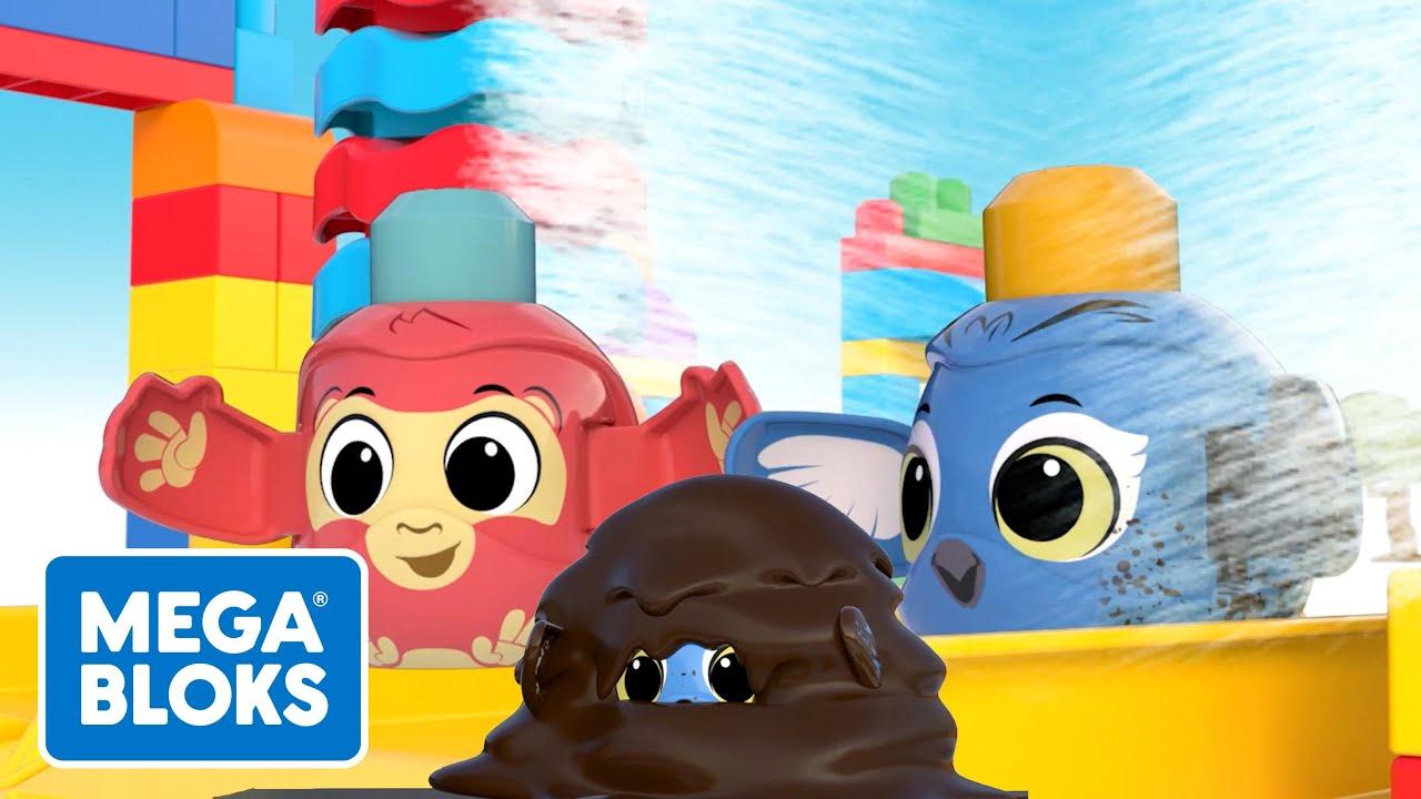 MEGA BLOKS™ | Super lavado de autos de gran tamaño| NUEVO! | Dibujos animados | Fisher-Price® España