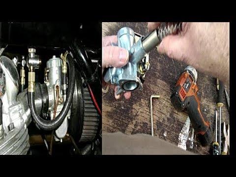 Remove flat spot from Mikuni carburetor Chinese pit bike