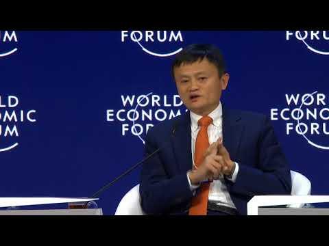 Jack Ma Speaks at WEF 2018 Davos