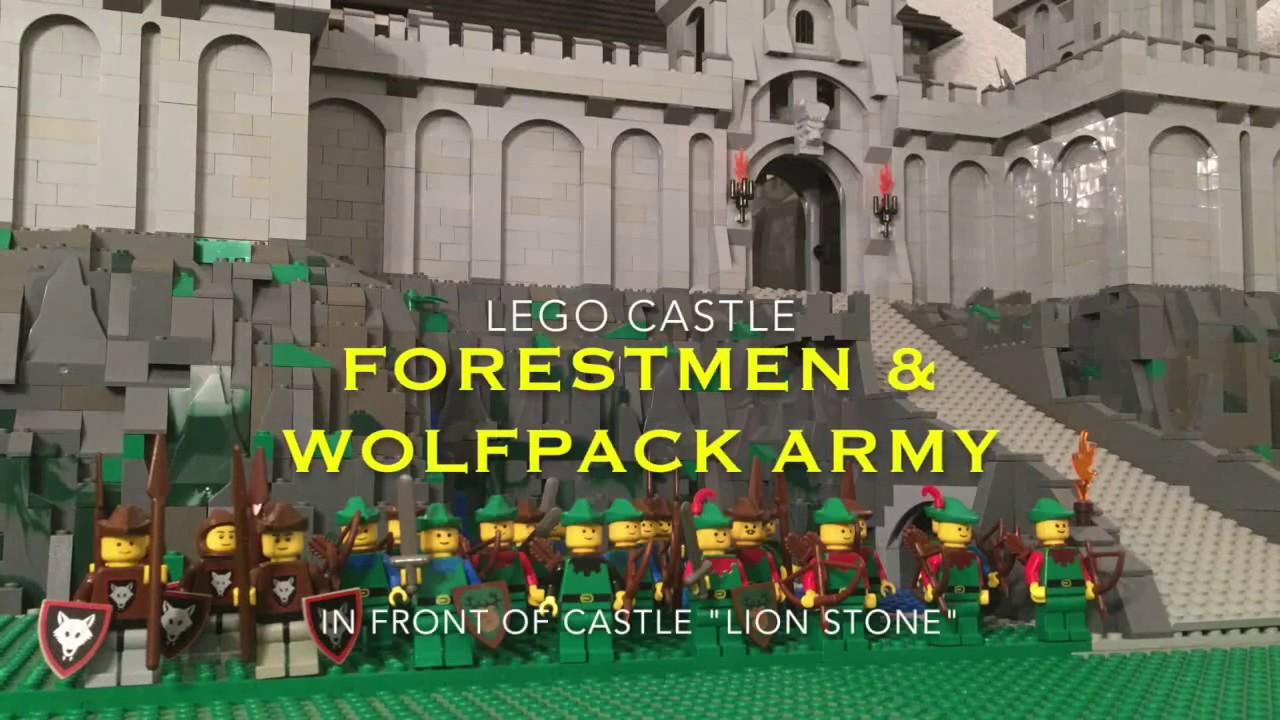 Lego Castle Forestmen Robin Hood Forestman Wolfpack Army