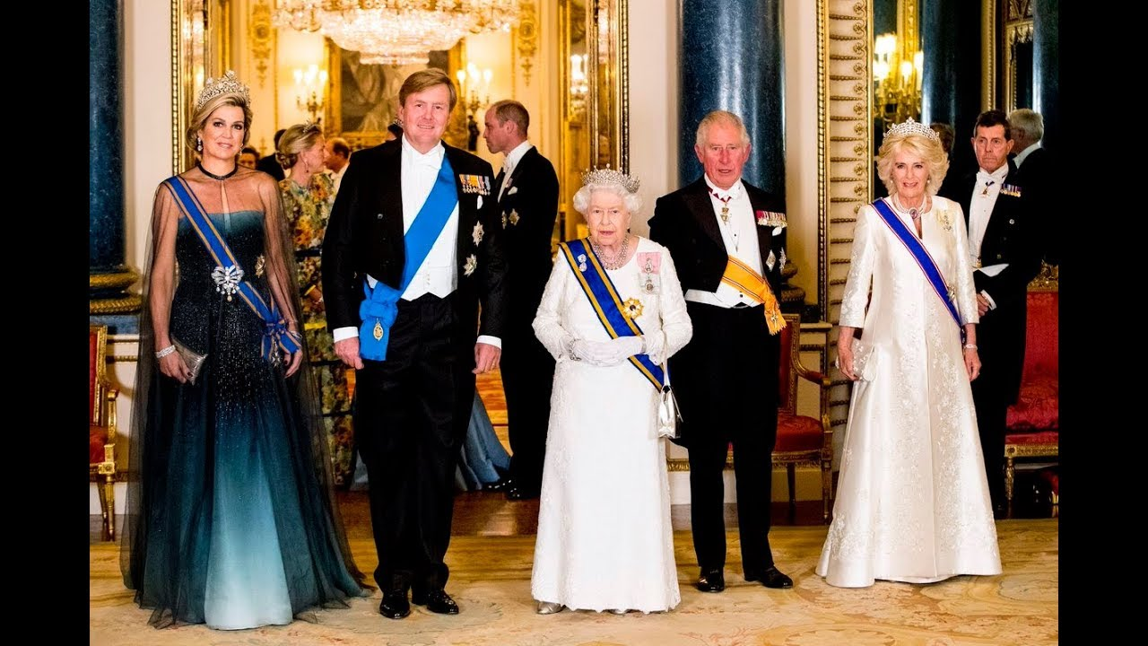 buy popular d18f2 c925f King Willem-Alexander and Queen Máxima look back on their State Visit to  Queen Elizabeth