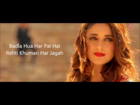 PEHLI DAFA FULL SONG WITH LYRICS - ATIF ASLAM | ILEANA D'CRUZ