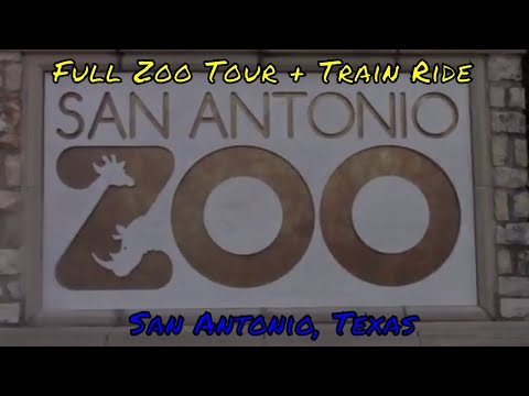 San Antonio Zoo Full Tour - San Antonio, Texas