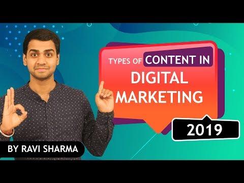 Content in digital marketing 2019 | Content Marketing Tutorial 2019 | Hindi thumbnail